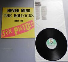 Sex Pistols - Never Mind The Bollocks German 1977 Virgin LP Misprint labels