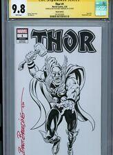 THOR Sketch cover art by BRETT BREEDING CGC SS 9.8 Marvel Disney Avengers