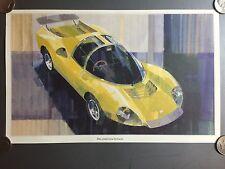 1967 Ferrari Dino Competizione Prototipo Coupe Print, Picture, Poster, RARE L@@K