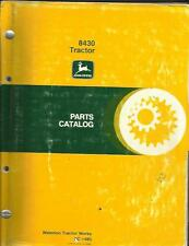 JOHN DEERE 8430 TRACTOR PARTS CATALOG