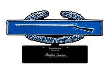 ON SALE:  Combat Infantry Badge CIB  Desk Top Metal Sign