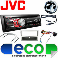 Vauxhall Corsa C 2004-2006 JVC Car Stereo Radio Upgrade Kit CD MP3 AUX Silver