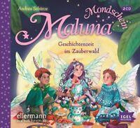 MALUNA MONDSCHEIN.GESCHICHTENZEIT IM ZAUBERWALD - SCHÜTZE,ANDREA  2 CD NEW