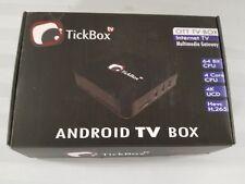 TickBox Android TV Box - NIP. Quad Core Smart TV Streaming Device HD4K Lot#176