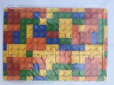 10 Mini Lego Brick Jigsaw Puzzles.Party Bag Toys,Loot Bag Fillers.PRIMARY REWARD