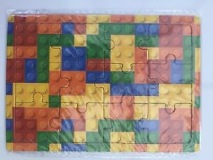 12 Mini Lego Brick Jigsaw Puzzles.Party Bag Toys,Loot Bag Fillers.PRIMARY REWARD