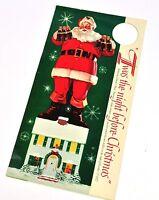 Coca Cola Botellas colgante de EE.UU. 1958 - Santa con 6