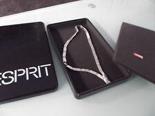 (r26) Esprit schwere Kette Silber 925 eine Seite matt / eine glänzend