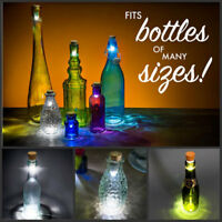 USB Cork Bottle Light LED Rechargeable Wine Bottle Lamp Wedding Fairy Lighting