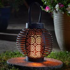 Smart Garden Ferrara Flaming Lantern Solar Light