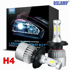 2x H4 9003 HB2 300W 30000LM LED Headlight Car Hi/Lo Beam Bulbs Light 6000K White