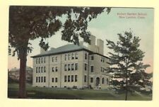 CT New London 1908-29 Antique postcard ROBERT BARTLETT SCHOOL Education Conn