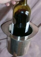 Félix frères : porte bouteille / rafraichissoir en métal argenté