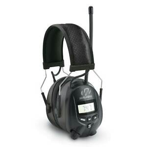 Walkers GWP-RDOM Hearing Protection Over Ear AM/FM Radio Earmuffs with Display