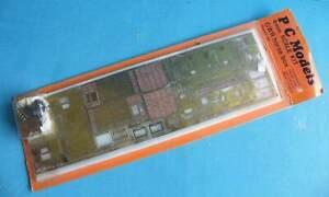 P C Models Brass & Metal 4mm Kit - GWR 4 Wheel  Horse Box Wagon Diag. N6