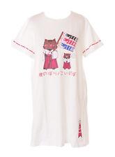 TP-123-1 Weiß Koi-Nobori Fahne Karpfendrachen Katze Cat Lang T-Shirt Kawaii