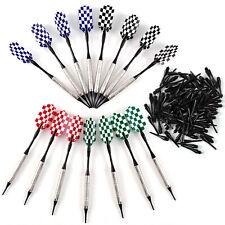 New listing 15Pcs Professional Soft Tip Darts Set Alloy Barrel - Flight - Shafts Dart