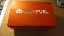 June 18 2016 Geekfuel Monthly Box Geeky Goodness Inside Mens Shirt XML