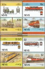 Nevis 340-347 Couples mint never hinged mnh 1986 LocoThematics