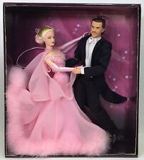 THE WALTZ BARBIE AND KEN GIFT SET SHIPPER NRFB