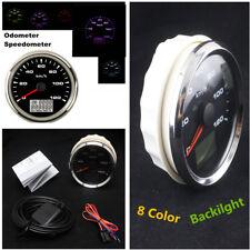 85mm Stainless Digital LCD Car GPS Speedometer 0~120km/h Trip Total Mileage IP67