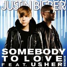 "JUSTIN BIEBER ""SOMEONE TO LOVE"" CD SINGLE NEU"