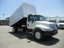 International Chipper dump truck landscape freightliner hino ford peterbilt gmc