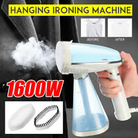 1600W Handheld Clothes Steam Iron Hanging Machine Fast-Heat Household Travel