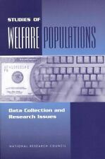 Studies of Welfare Populations: Data Collection and Research Issues-ExLibrary