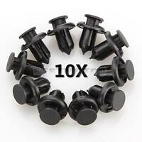 10 pcs 10mm For Mitsubishi Honda Push Type Fender Retainer Bumper Clips MR200300