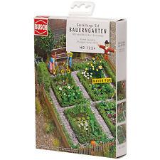 BUSCH 1254 H0 Bauerngarten ++ NEU & OVP ++