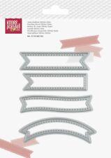 Stanz-schablone Cutting die Stitch Label Fahne Banner Knorr Prandell 2158560156