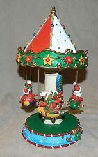 San Francisco Music Box Co.-Santa Merry Go Round-Santa Claus Is Coming To Town