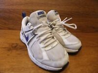 Nike Dart 10 White Running Shoes Trainers Size UK 4 EUR 36.5