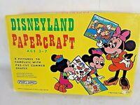 Vintage 70s Spears Games Disneyland Paper Craft Rare Disney