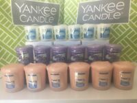 YANKEE CANDLE Votives ~ Samplers ~ You Choose Scent ~ Lots of 6 ~ New in Plastic