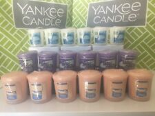 Lot of 6 YANKEE CANDLE Votives ~ Samplers ~ You Choose Scent ~ NEW in Plastic