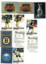1990-91 Panini Hockey Sticker Set (351) Complete set, seldom seen