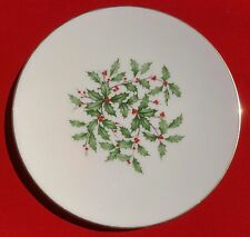 "Lenox China Holiday (Dimension / Presidential) 7 7/8"" SALAD / SIDE PLATE - MINT!"