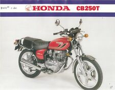 Honda CB250T CB400T Kit Completo De Pintura Calcomanía Sueño