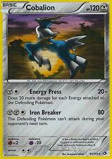 Pokemon Legendary Treasures Cobalion #91 Holo Rare Card