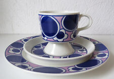 ARABIA OF FINLAND  Vintage,  Pauliina Coffee Cup & Saucer and Plate