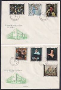 1970-FDC-52 ANTILLES SPAIN 1970 FDC ART NATIONAL MUSEUM SUPER CONSERVATION COVER