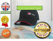 Audi 3D Adjustabl S line Logo  Hat Moto Racing Baseball Cap A1 A3 A4 B6 B7 B8 A6