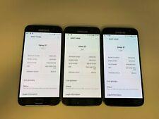 Samsung Galaxy S7 SM-G930- THREE PHONES - 32GB - Black Onyx (Verizon)