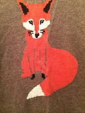 SOLD OUT!! NWT SMALL OLD NAVY FOX SWEATER! INTL SHIP!