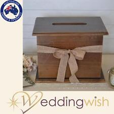 Extra Large Rustic Wooden Wishing Well, Wedding Card Box, Engagement 21st - New