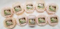 Yankee Candle Tarts: BUNNY CAKE Wax Melts Lot of 9 & 1 votive =10 items Pink New