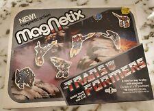 Transformers MagNetix 1985 G1 Board & Magnet Figures Rare Vintage Hasbro- Sealed
