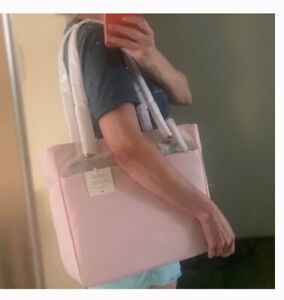 🌹NWT Kate Spade Jae Nylon Large Tote pink Handbag laptop bag